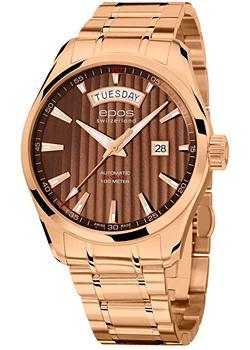 Швейцарские наручные мужские часы Epos 3402.142.24.17.34. Коллекция Passion