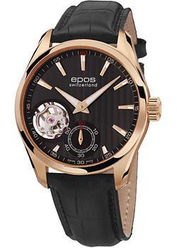 Швейцарские наручные мужские часы Epos 3403.193.24.15.25. Коллекция Passion
