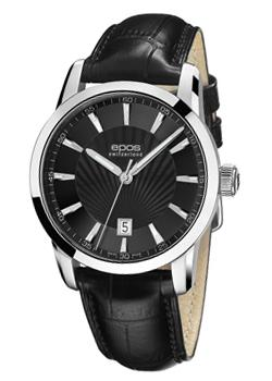 Швейцарские наручные  мужские часы Epos 3423.132.20.15.25. Коллекция Sophistiquee
