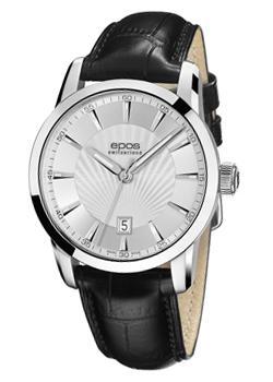 Швейцарские наручные  мужские часы Epos 3423.132.20.18.25. Коллекция Sophistiquee
