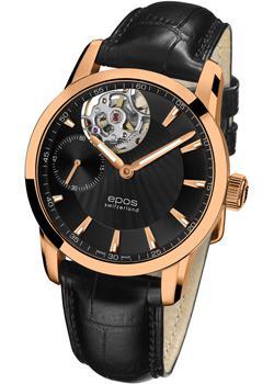 Швейцарские наручные  мужские часы Epos 3424.183.24.15.25. Коллекция Sophistiquee