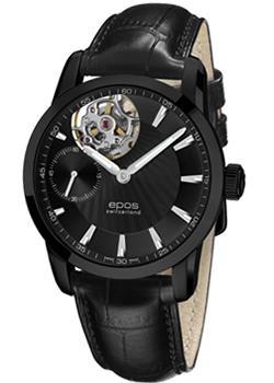 Швейцарские наручные  мужские часы Epos 3424.183.25.15.25. Коллекция Sophistiquee