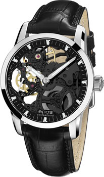 Швейцарские наручные  мужские часы Epos 3424.189.20.15.25. Коллекция Sophistiquee