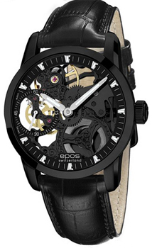 Швейцарские наручные  мужские часы Epos 3424.189.25.15.25. Коллекция Sophistiquee