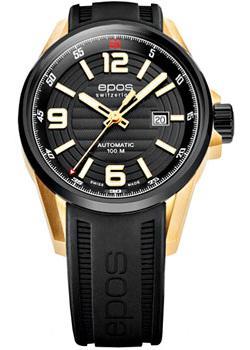 Швейцарские наручные  мужские часы Epos 3425.131.45.55.55. Коллекция Sportive