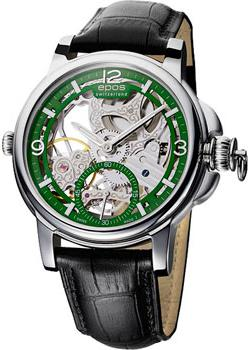 Швейцарские наручные мужские часы Epos 3429.195.20.53.25. Коллекция Oeuvre d art