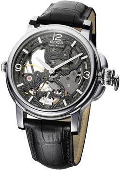 Швейцарские наручные  мужские часы Epos 3429.199.20.55.25. Коллекция Oeuvre d art