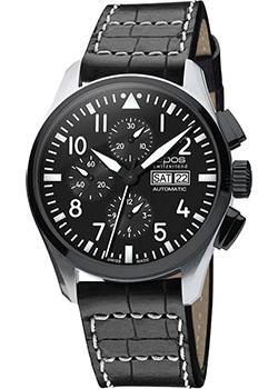 Швейцарские наручные  мужские часы Epos 3433.228.35.35.24. Коллекция Sportive Pilot