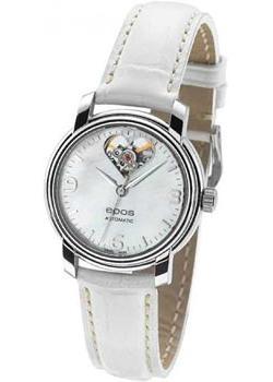 Швейцарские наручные  женские часы Epos 4314.133.20.50.10. Коллекция Ladies