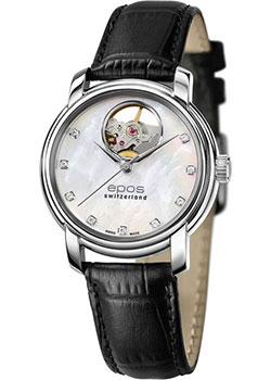 Швейцарские наручные  женские часы Epos 4314.133.20.80.15. Коллекция Ladies