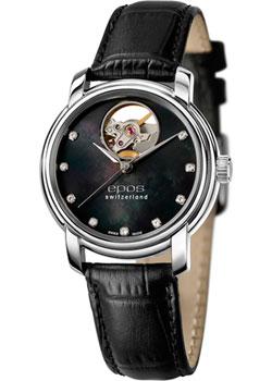 Швейцарские наручные  женские часы Epos 4314.133.20.85.15. Коллекция Ladies