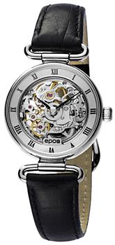 Швейцарские наручные  женские часы Epos 4347.115.20.28.15. Коллекция Ladies