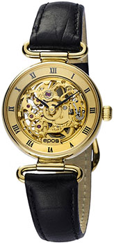 Швейцарские наручные  женские часы Epos 4347.116.21.21.15. Коллекция Ladies