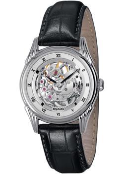 Швейцарские наручные  женские часы Epos 4382.115.20.28.15. Коллекция Ladies