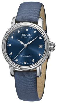 Швейцарские наручные  женские часы Epos 4390.152.20.86.86. Коллекция Ladies