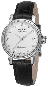 Швейцарские наручные  женские часы Epos 4390.152.20.88.15. Коллекция Ladies