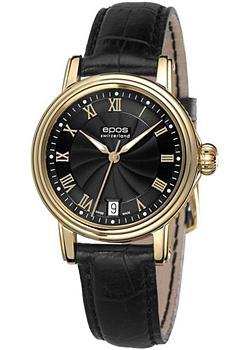 Швейцарские наручные  женские часы Epos 4390.152.22.25.15. Коллекция Ladies
