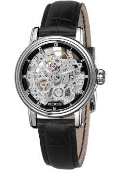 Швейцарские наручные  женские часы Epos 4390.155.20.25.15. Коллекция Ladies