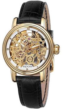 Швейцарские наручные  женские часы Epos 4390.156.22.20.15. Коллекция Ladies