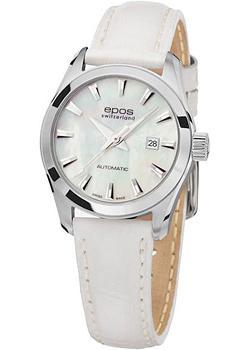 Швейцарские наручные  женские часы Epos 4401.122.20.18.10. Коллекция Ladies