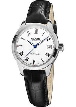 Швейцарские наручные  женские часы Epos 4426.132.20.20.15. Коллекция Ladies