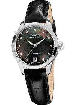 Швейцарские наручные  женские часы Epos 4426.132.20.85.15. Коллекция Ladies