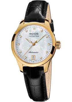 Швейцарские наручные  женские часы Epos 4426.132.22.80.15. Коллекция Ladies