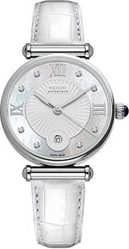 Швейцарские наручные  женские часы Epos 8000.700.20.88.10. Коллекция Quartz
