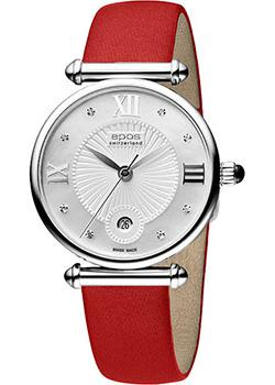 Швейцарские наручные  женские часы Epos 8000.700.20.88.88. Коллекция Quartz