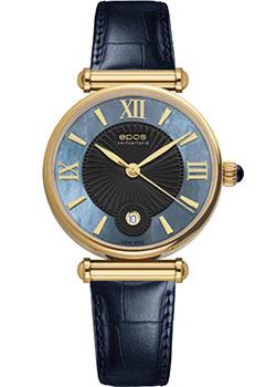 Швейцарские наручные  женские часы Epos 8000.700.22.65.16. Коллекция Ladies