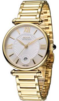 Швейцарские наручные  женские часы Epos 8000.700.22.68.32. Коллекция Quartz
