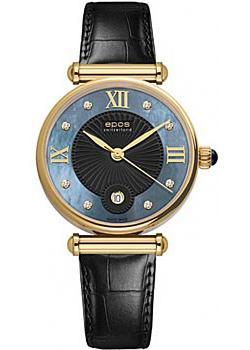 Швейцарские наручные  женские часы Epos 8000.700.22.85.15. Коллекция Quartz