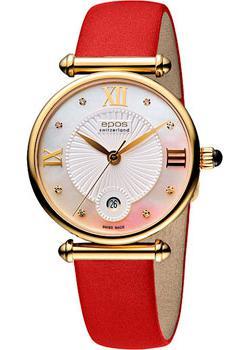 Швейцарские наручные  женские часы Epos 8000.700.22.88.88. Коллекция Quartz
