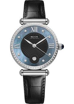 Швейцарские наручные  женские часы Epos 8000.700.29.85.15. Коллекция Quartz