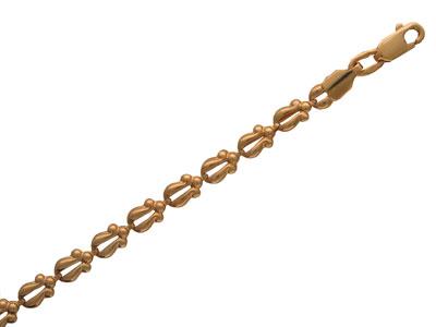 Золотой браслет  01B010028