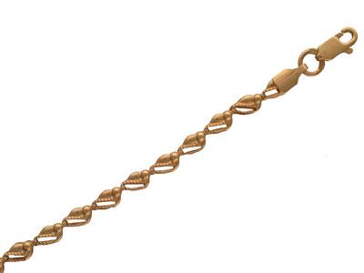 Золотой браслет  01B010039