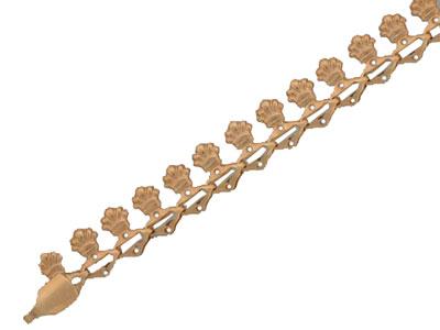 Золотой браслет  01B010229