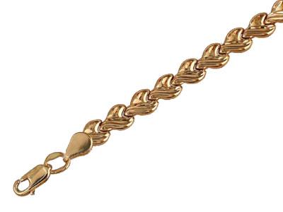 Золотой браслет  01B710002
