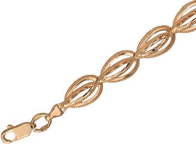 Золотой браслет  01B710302