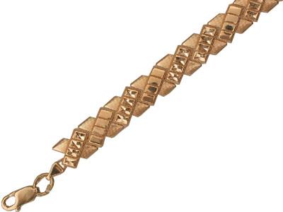 Золотой браслет  01B710509