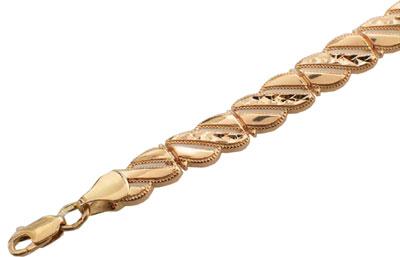 Золотой браслет  01B710557