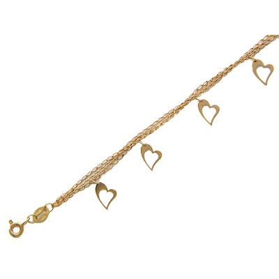 Золотой браслет  01B711088