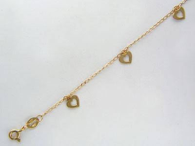 Золотой браслет  01B711109