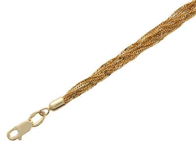 Золотой браслет  01B711134