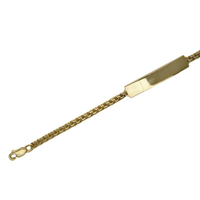 Золотой браслет  01B731385