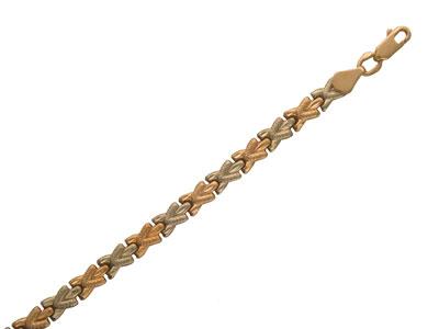 Золотой браслет  01B760007