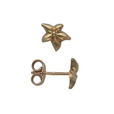 Золотые серьги  01C015084