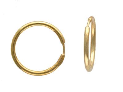 Золотые серьги  01C030399