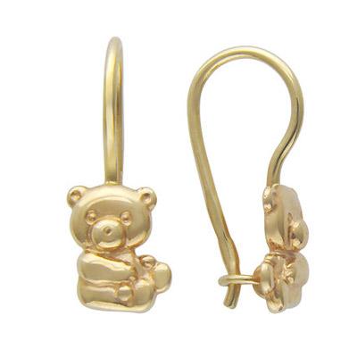 Золотые серьги  01C034987