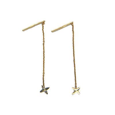 Золотые серьги  01C764755